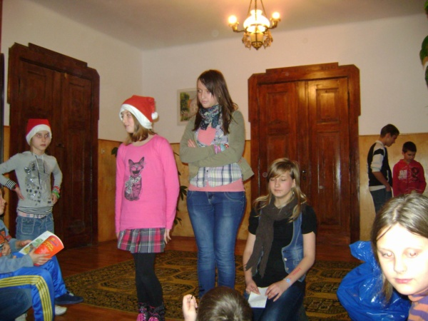 Zespół Szkół w Biesowicach Z wizytą w Domu Dziecka w Darłowie