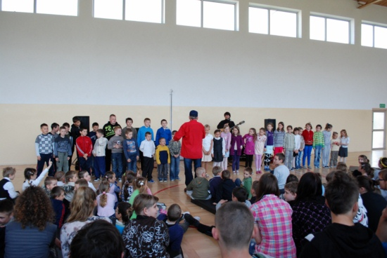 Zespół Szkół w Biesowicach Koncert w szkole