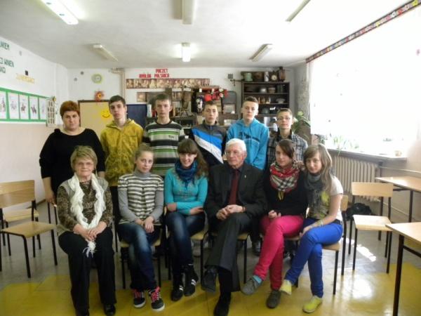 Zespół Szkół w Biesowicach Goście w naszej szkole