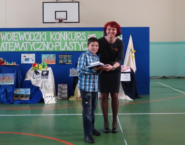 Zespół Szkół w Biesowicach VII Wojewódzki Konkurs Matematyczno-Plastyczny