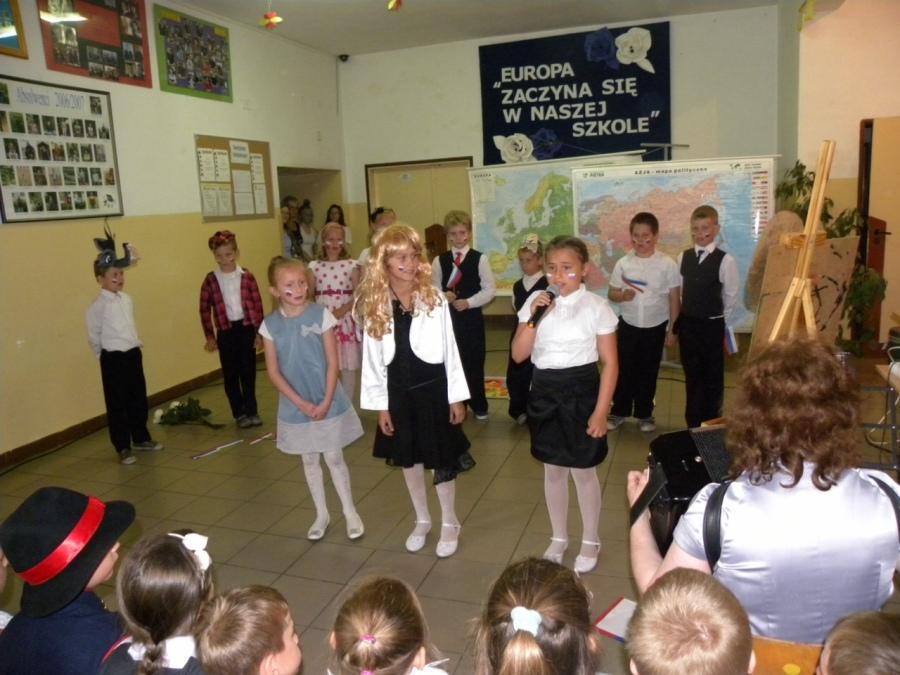 Zespół Szkół w Biesowicach Przegląd państw świata - finał