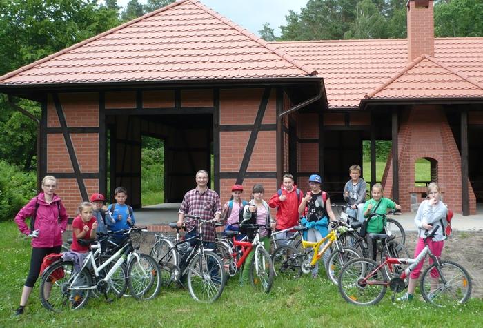 Zespół Szkół w Biesowicach Rajd rowerowy