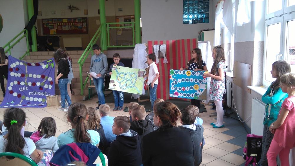 Zespół Szkół w Biesowicach Międzyszkolny Konkurs Czytania ze Zrozumieniem