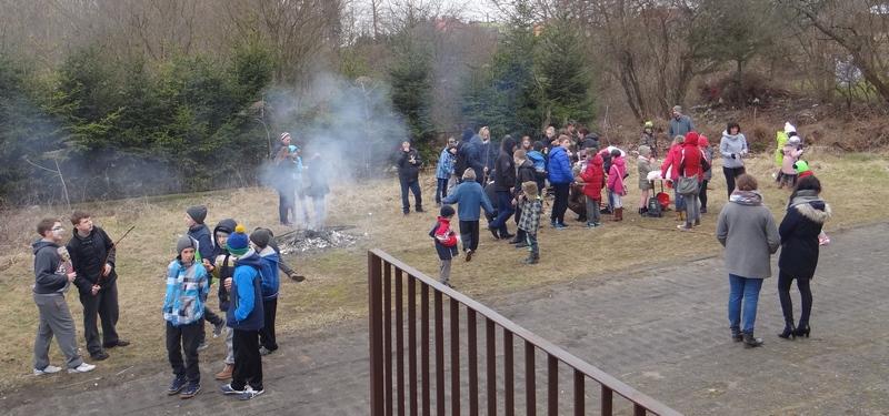 Zespół Szkół w Biesowicach Dzień wiosny