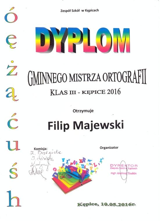 Zespół Szkół w Biesowicach Mamy Mistrza