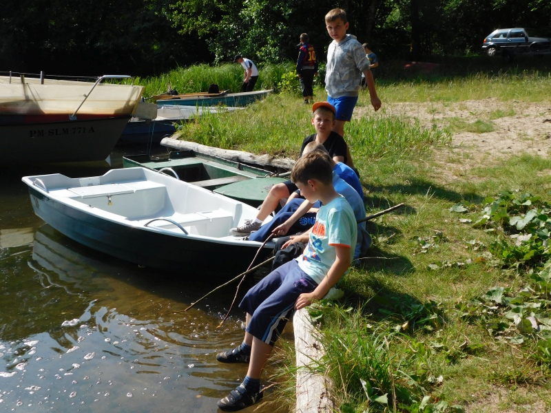 Zespół Szkół w Biesowicach Wędrówka na Przyjezierze