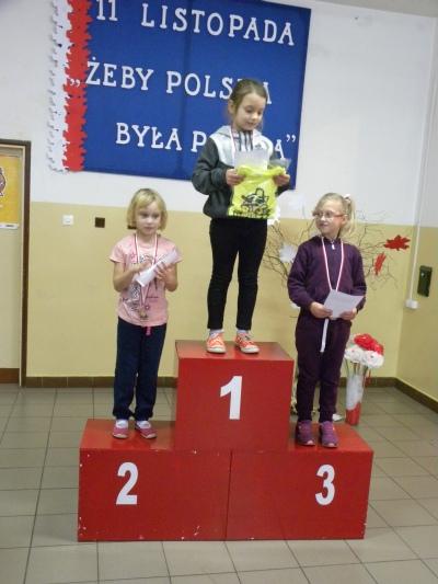 Zespół Szkół w Biesowicach Święto Niepodległości - Bieg