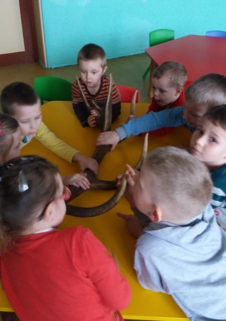 Zespół Szkół w Biesowicach Odwiedziny leśniczego
