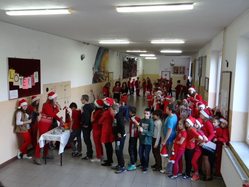 Zespół Szkół w Biesowicach Mikołajki w naszej szkole