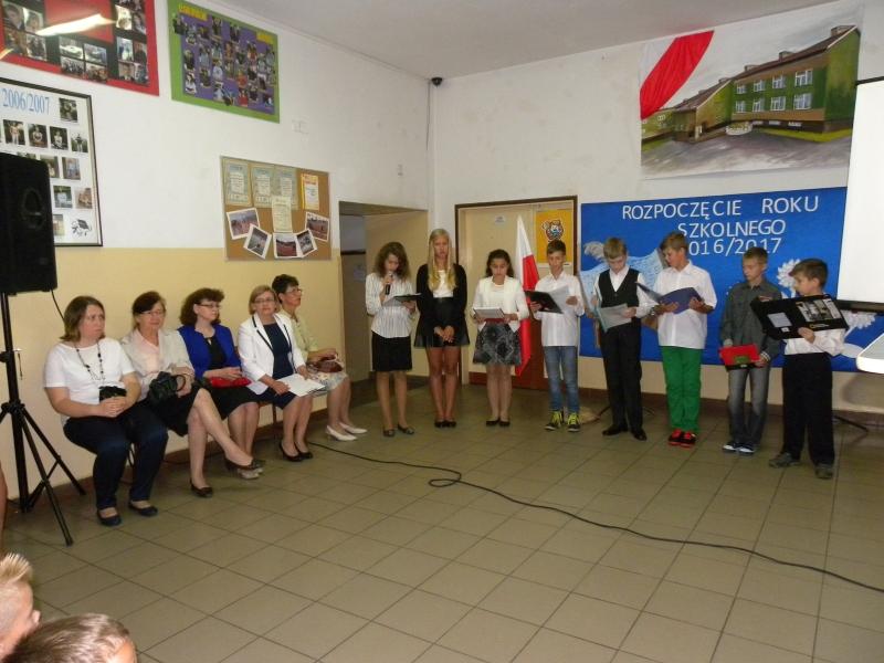 Zespół Szkół w Biesowicach Rozpoczęcie roku szkolnego