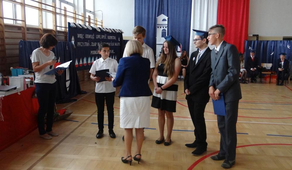 Zespół Szkół w Biesowicach Zakończenie roku szkolnego