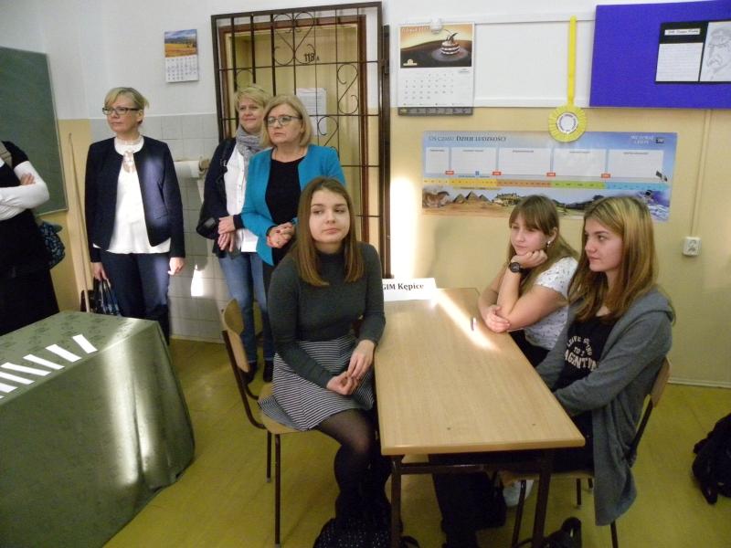 Zespół Szkół w Biesowicach Gminny konkurs Dbam o zdrowie