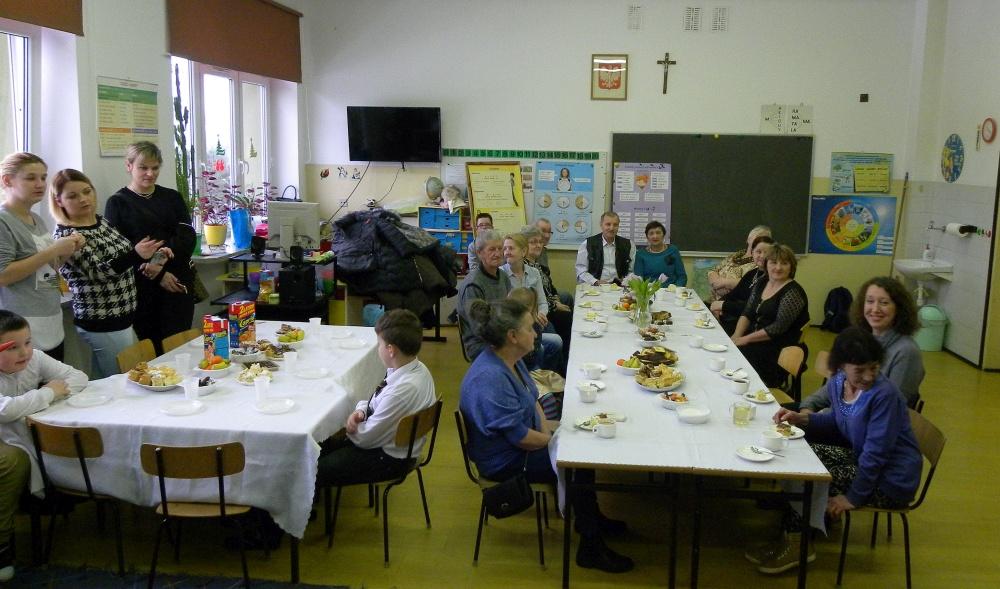 Zespół Szkół w Biesowicach Dzień Babci i Dziadka