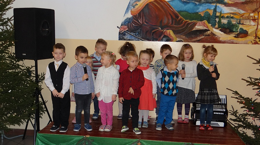 Zespół Szkół w Biesowicach Wigilia szkolna