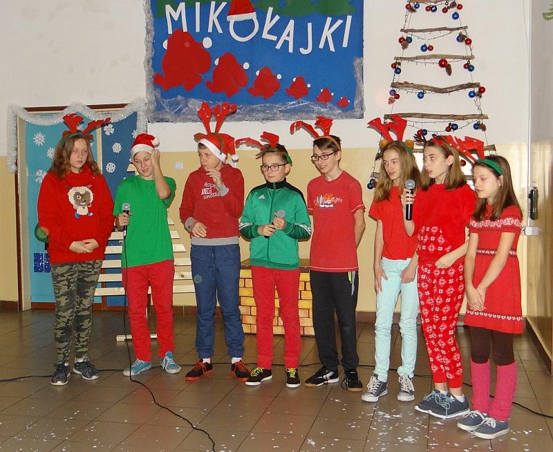 Zespół Szkół w Biesowicach Mikołajki 2017