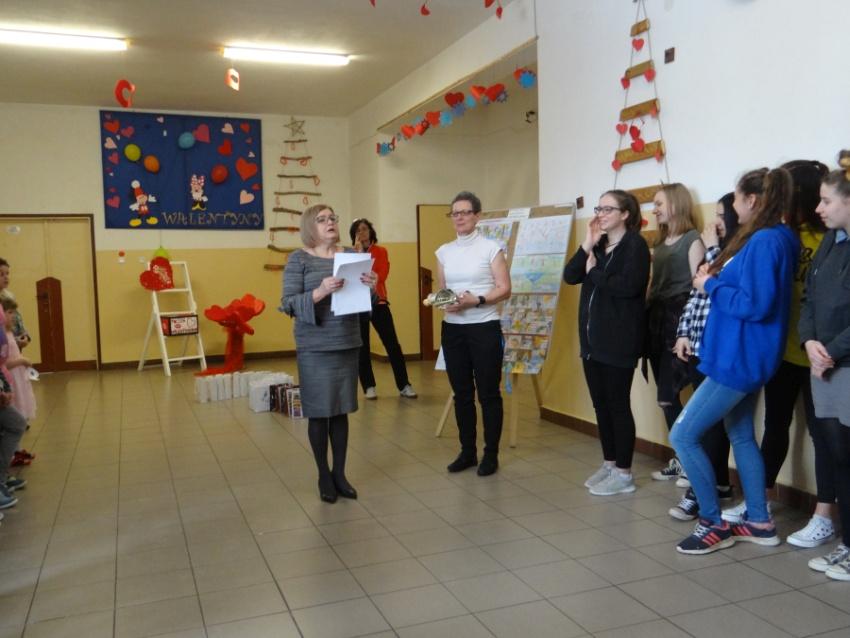 Zespół Szkół w Biesowicach A to niespodzianka