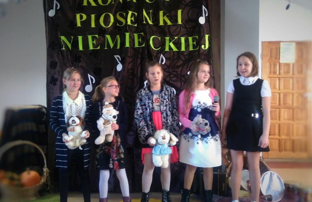 Zespół Szkół w Biesowicach Konkurs Piosenki Niemieckiej