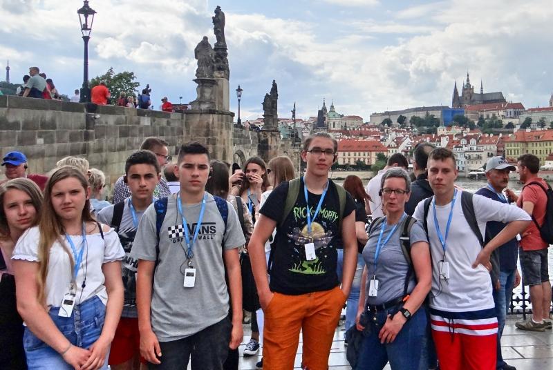 Zespół Szkół w Biesowicach Wycieczka 3 gimnazjum