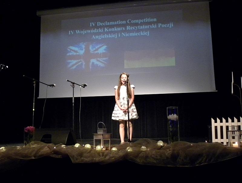 Zespół Szkół w Biesowicach Wojewódzki Konkurs Poezji Angielskiej i Niemieckiej