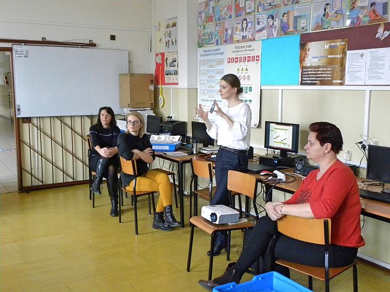 Zespół Szkół w Biesowicach Pracownia ROBOTYKI