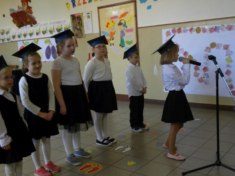 Zespół Szkół w Biesowicach Ślubowanie klasy 1