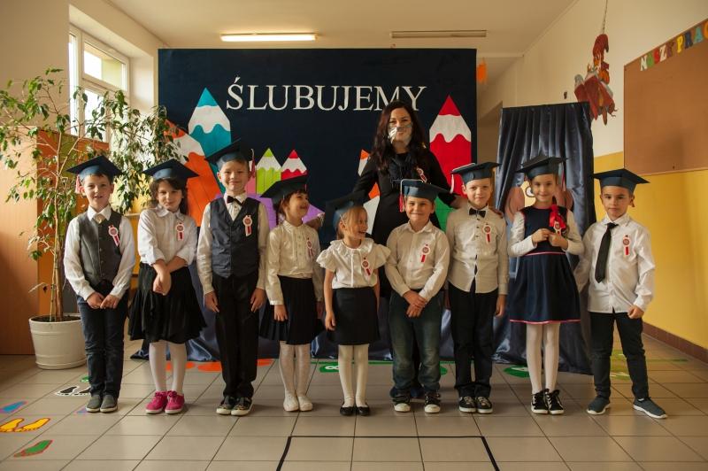 Zespół Szkół w Biesowicach Ślubowanie