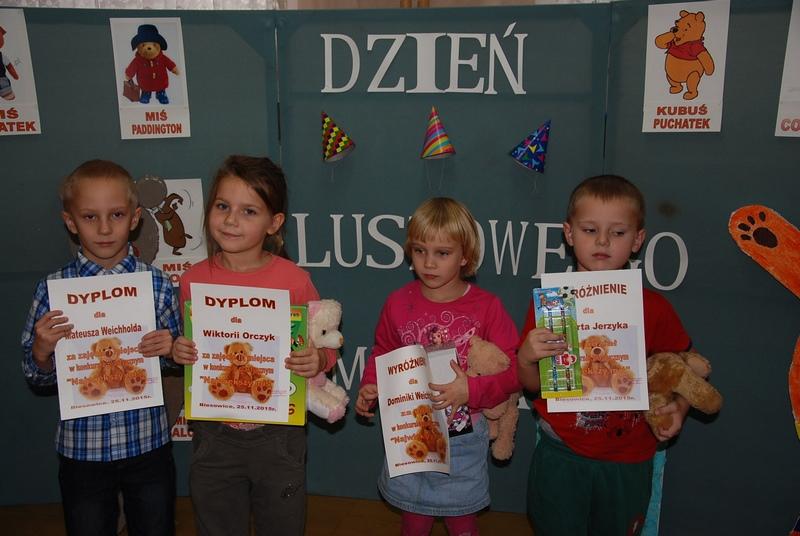 Zespół Szkół w Biesowicach Konkurs na wykonanie największego misia